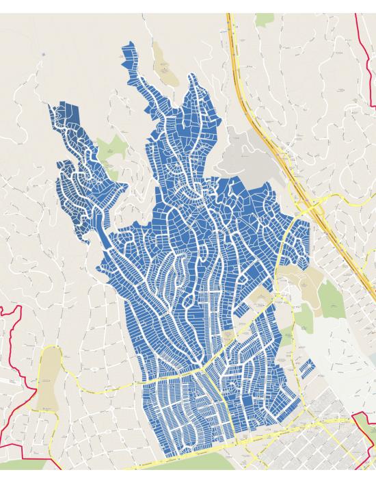 BHA Territory Map